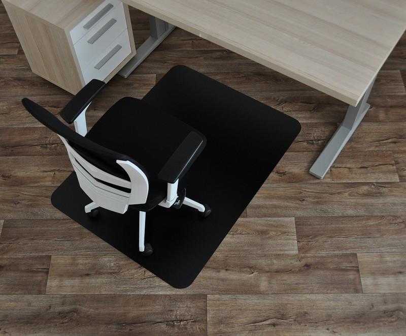 barevná podložka pod židle SMARTMATT 5090 PH-černá (120x90)