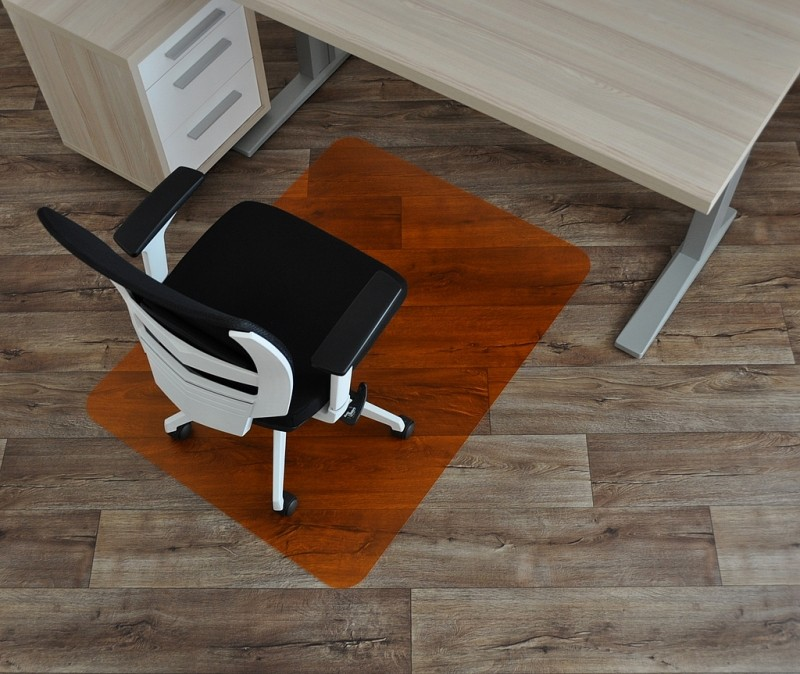 barevná podložka pod židle SMARTMATT 5090 PH-oranžová(120x90)